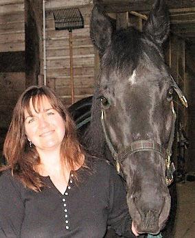 Jennifer Sackinger with Nick
